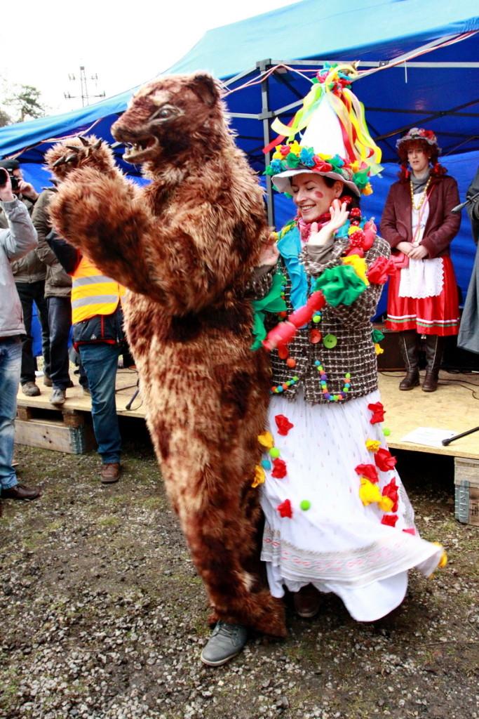 Taneček s medvědem