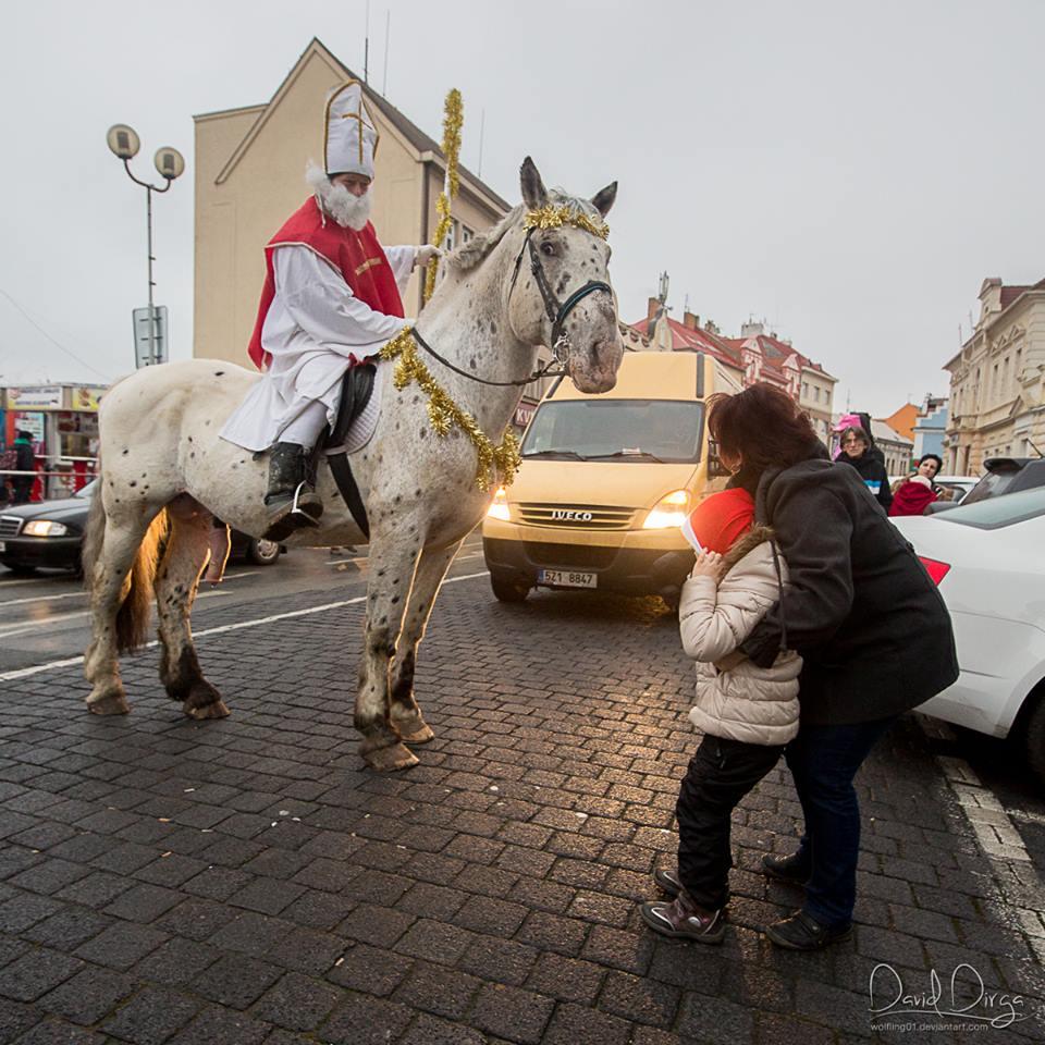Mikuláš na koni 2014 (4)