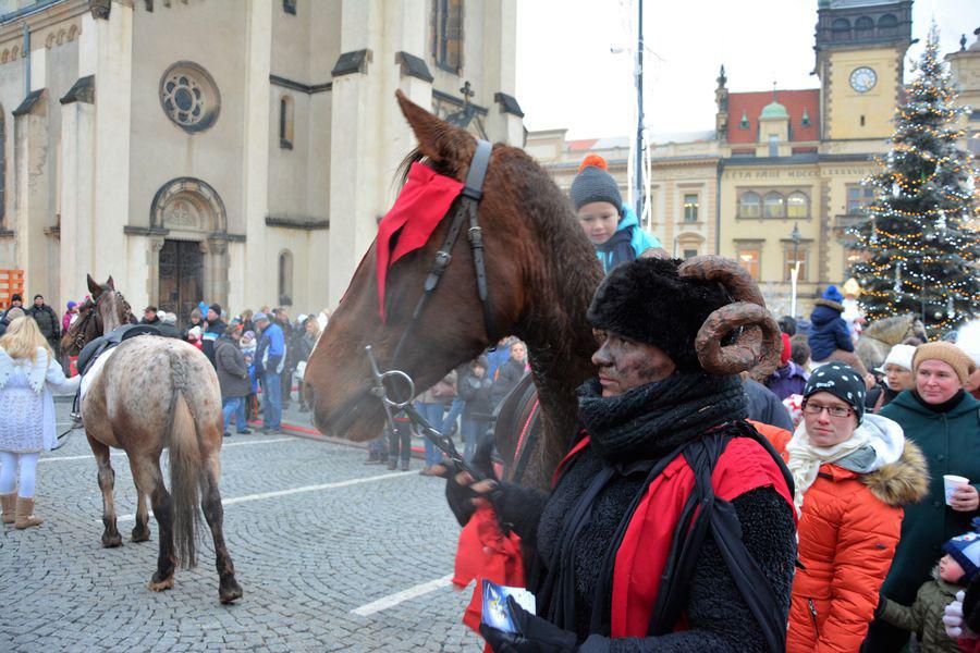 Mikuláš na koni 2016 8