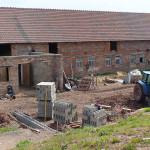 Práce v okolí stáje 2010