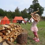 Sekáme dřevo