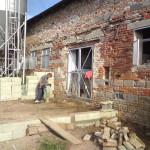 Stavba přístřešku-výběhu pro koně 2009