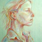 Portrét - pastely