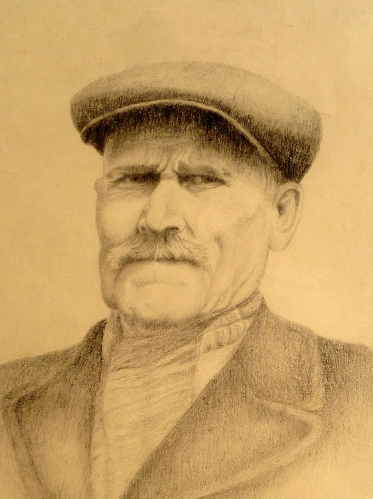 Portrét - tužka
