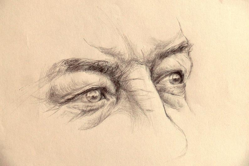 Portrét - studie